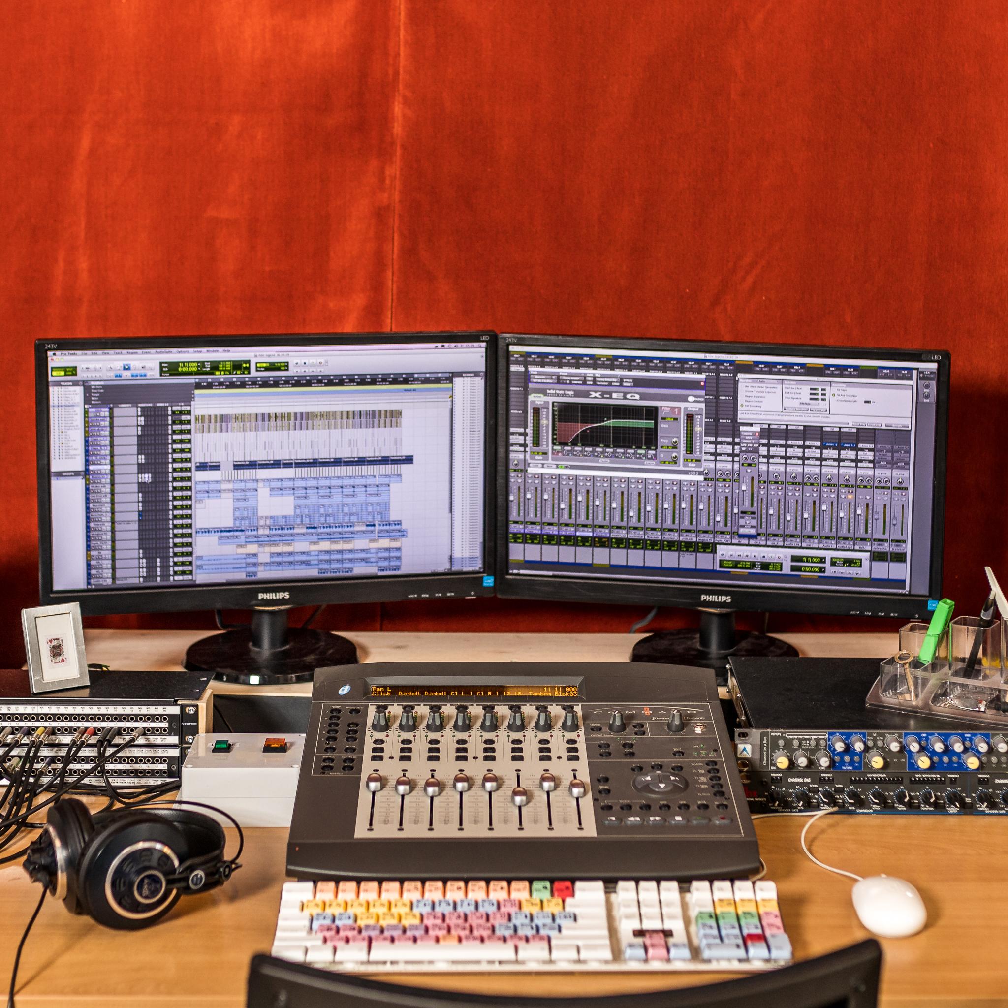 Groovefactory Regie_Monitore